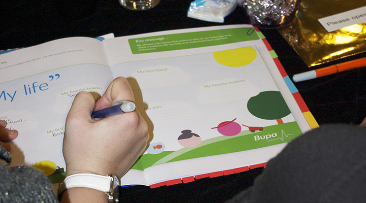 Particular Design & Print Bupa Activities 2
