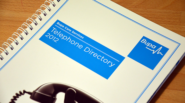 Particular Design & Print Bupa Directory 1