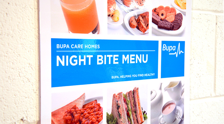 Particular Design & Print Bupa Night Bite 2