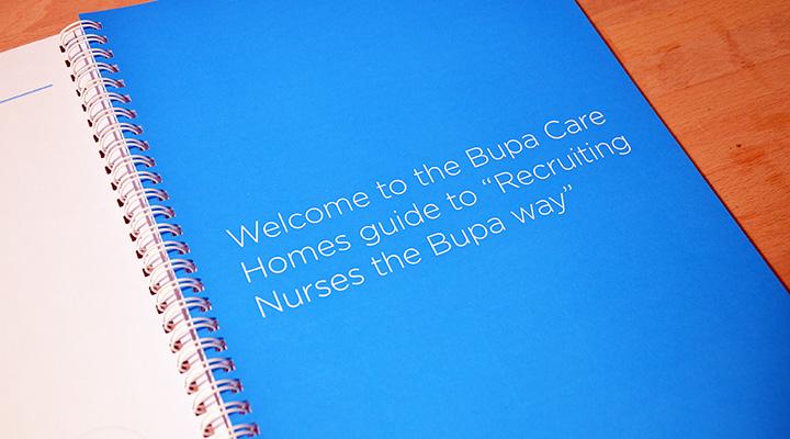 Particular Design & Print Bupa Recruitment Guide 3